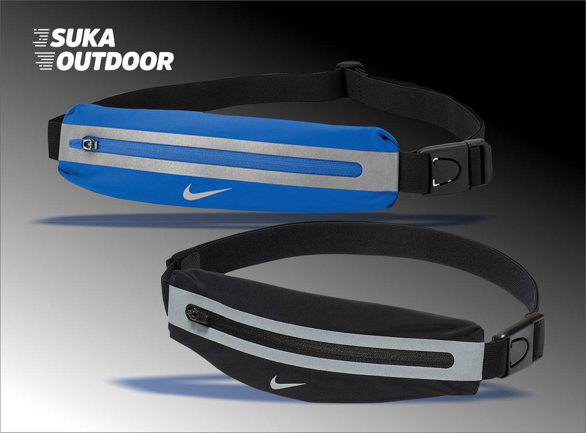 Nike Slim Running Waistpack - Sabuk bisa disesuaikan untuk kenyamanan - Nyaman untuk pinggang - Zip pocket menyediakan akses mudah, penyimpanan aman - Kain: 100% nilon  Info lebih lanjut https://sukaoutdoor.com/brand/detail/NIKE… atau WA 0819 0560 8800.  #RUNNING #SUKAOUTDOOR #TRAILRUNNING #RUN