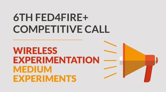 Participa en la 6ta #OpenCall de @Fed4Fire en #WirelessExperimentation con un presupuesto de has...