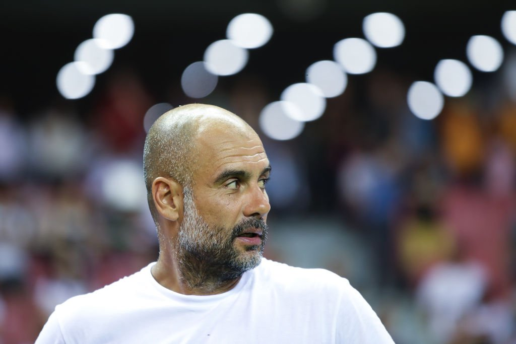 I should say I dont agree and also that its false. Pep Guardiola has rubbished reports claiming Manchester City showed utter disrespect in China. Full story: bbc.in/2Z65BZ2