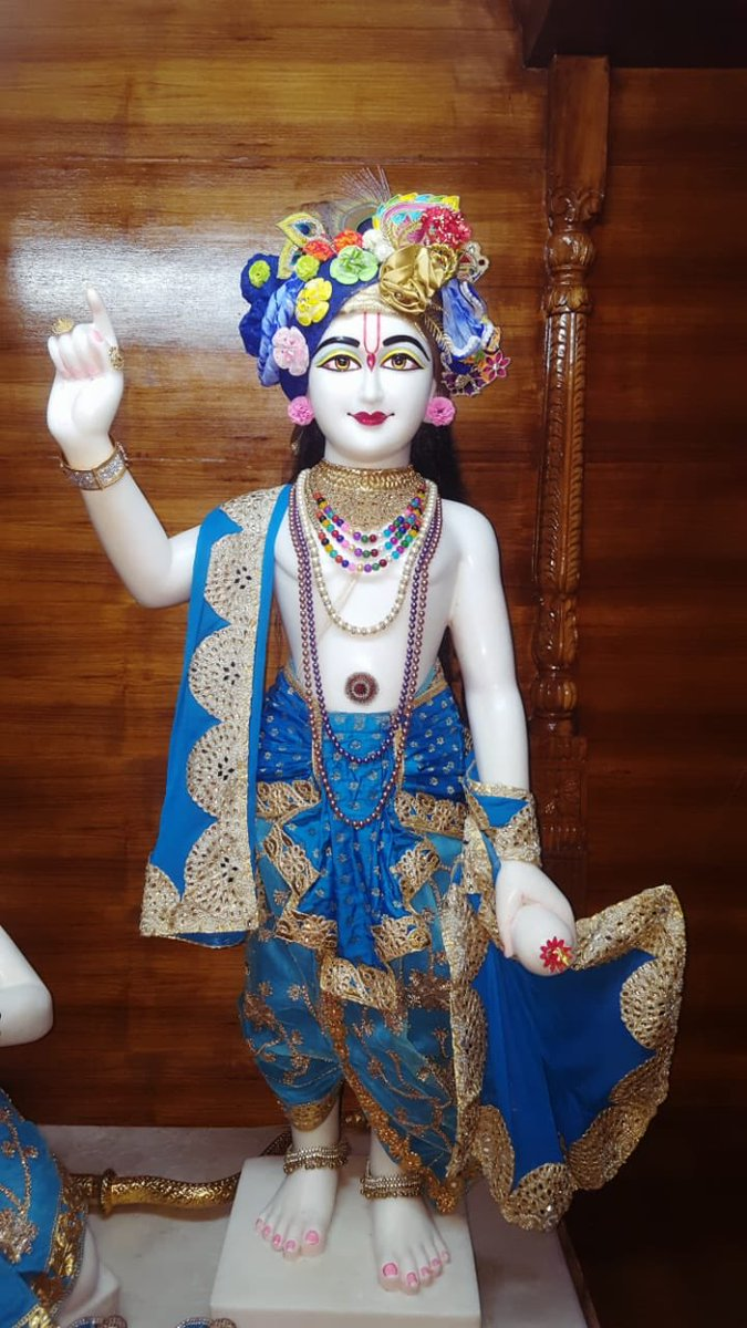 #Arjun #Krishna #deities(called as #Arjun #Varshney #Krishna) #Darshan,  #Iskcon #Aligarh #Gita #Gyan #Mandir, #Harduaganj.23.7.19 Photography courtesy of Mannraj Prabhuji. #APNA #SAHAYOGI #PREMI #PARIVAR. #अपना #सहयोगी #प्रेमी #परिवार |