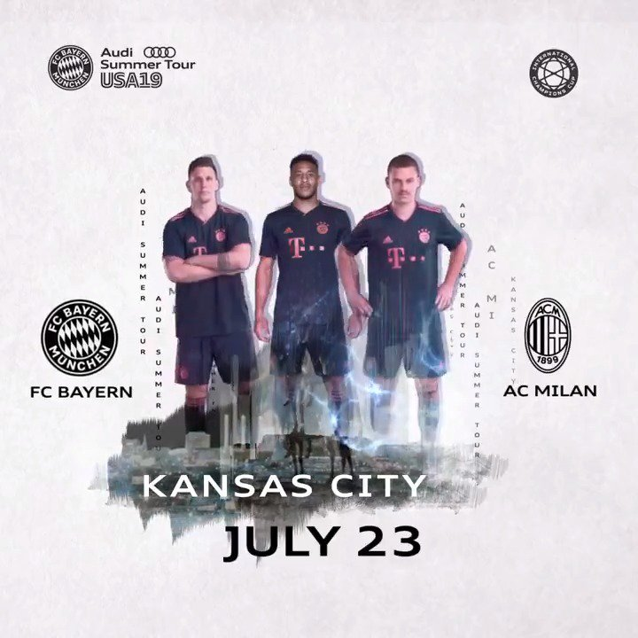 Match day for @FCBayernEN on the final leg of the #AudiFCB tour in Kansas City. #FCBayern