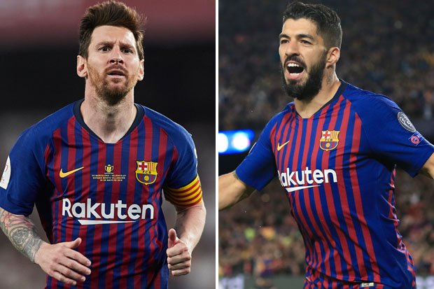 Where are Lionel Messi and Luis Suarez for starters?! #BARCHE #CFC #FCB dailystar.co.uk/sport/football…