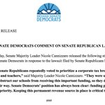 Image for the Tweet beginning: .@NVGOPSenate has doubled down on