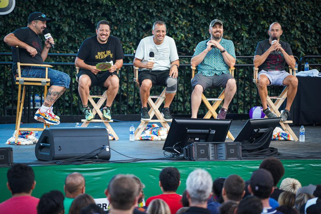Over 13,000 fans came out to #JokersIsland in San Diego on Saturday to party with the #ImpracticalJokers! New episodes return to @truTV on Thursday, August 8!<br>http://pic.twitter.com/x2kuOUe1Bu