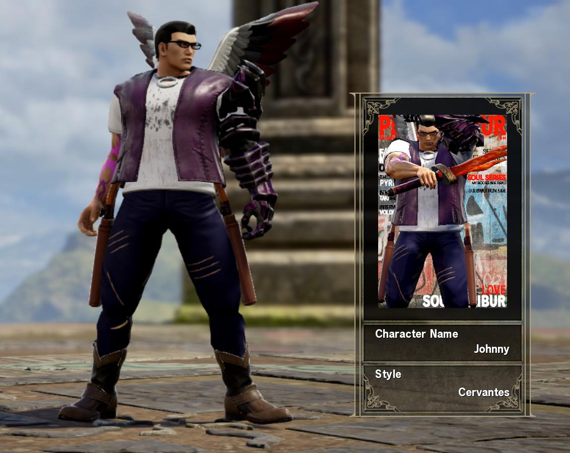 soul calibur vi character creator on JumPic com