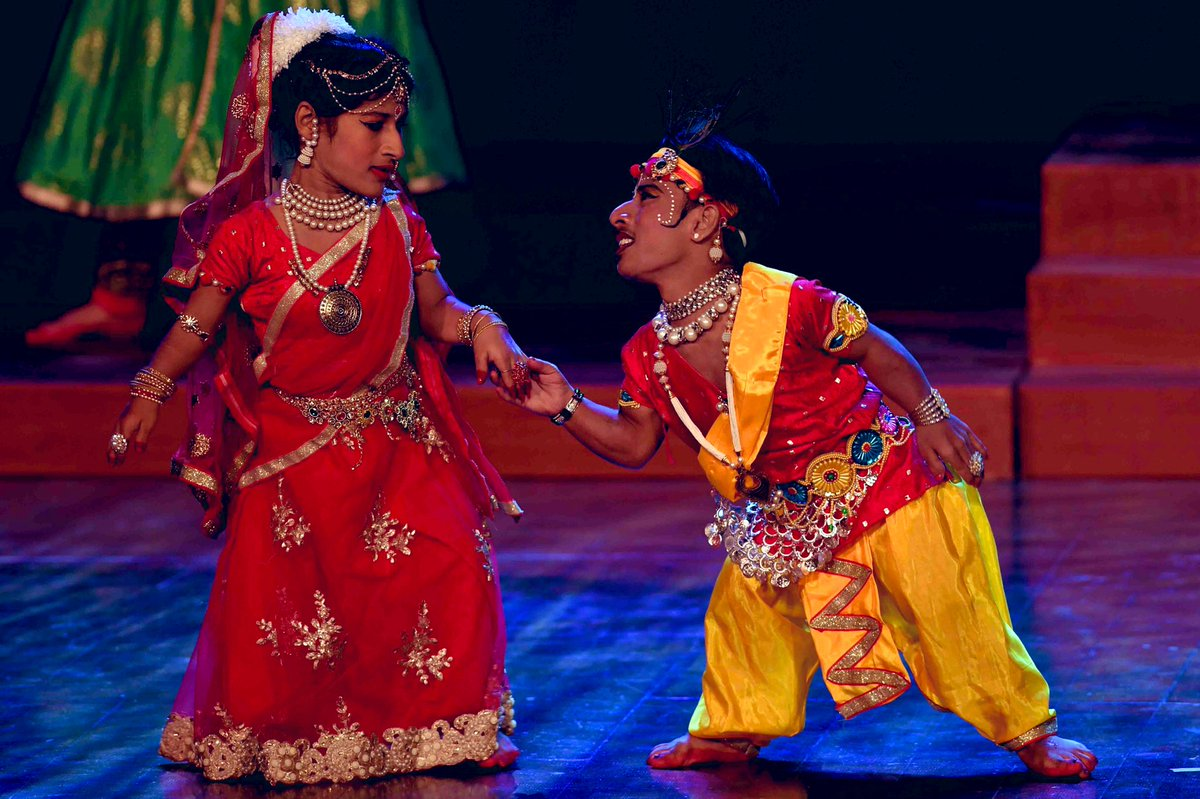 Divyangs Enthrall top dignitaries of country at a cultural programme