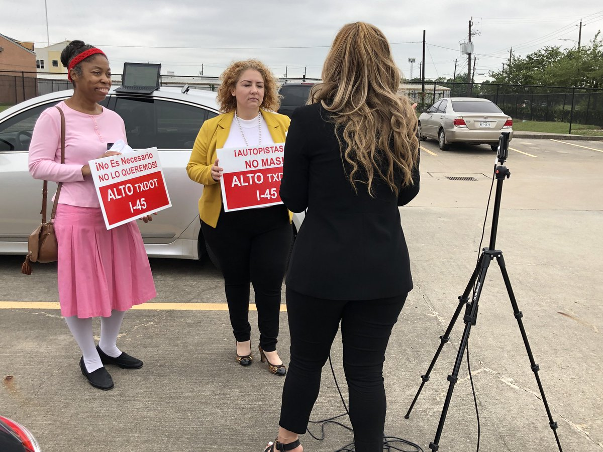 Members spreading the word about our group. #joinus #stoptxdot #delaythevote