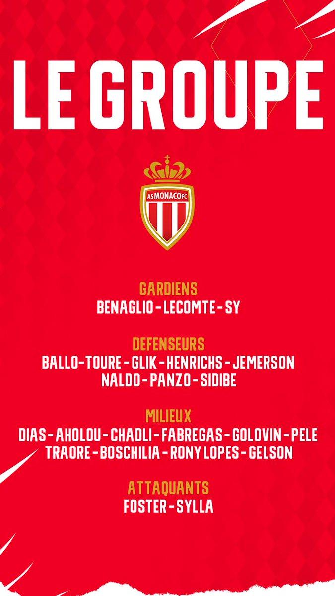 Le groupe de Monaco pour le stage au Portugal