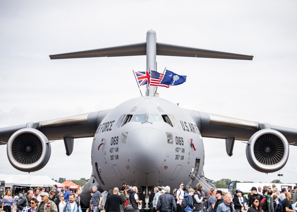 A #C17 Globemaster III from @TeamCharleston made an appearance at the 2019 Royal International Air Tattoo! This years RIAT commemorated the 70th anniversary of @NATO and highlighted the United States enduring commitment to its European allies. #TTailTuesday #RIAT19 @airtattoo