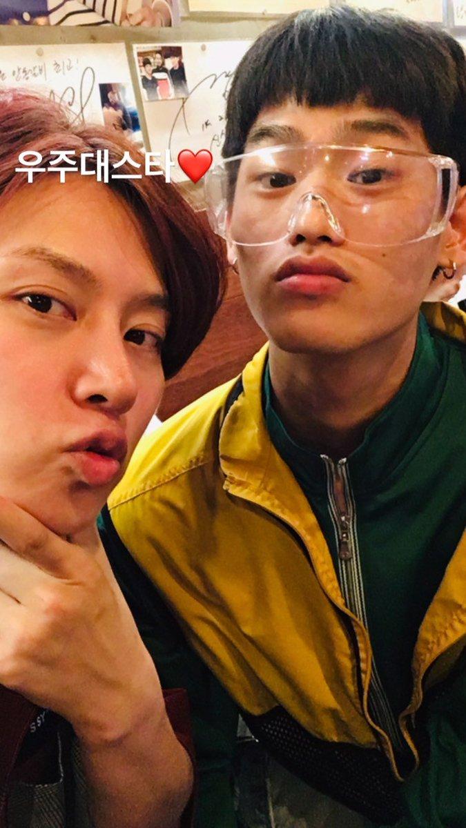 [PIC] 190723 leechardvin IG Story Update with Kim Heechul💙 #Heechul #김희철 #희철 #SuperJunior #슈퍼주니어 #HighSchoolStyleIcon