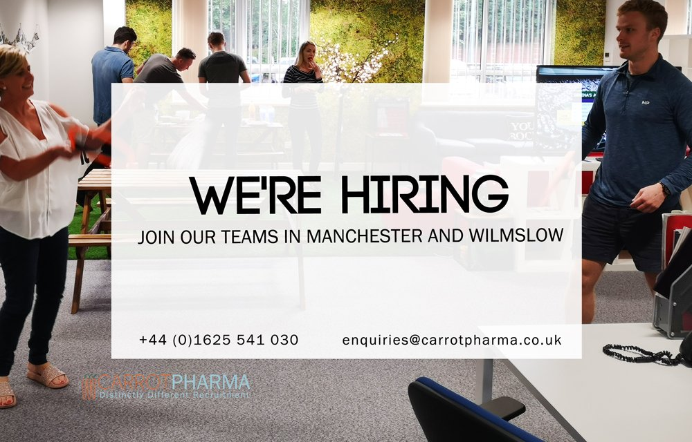 We're distinctly different to your usual #recruitment agency and we're #hiring both in Manchester and Wilmslow! Don't miss out, click for more info http://bit.ly/2y1OVG5 #Manchester #Wilmslow #joinus