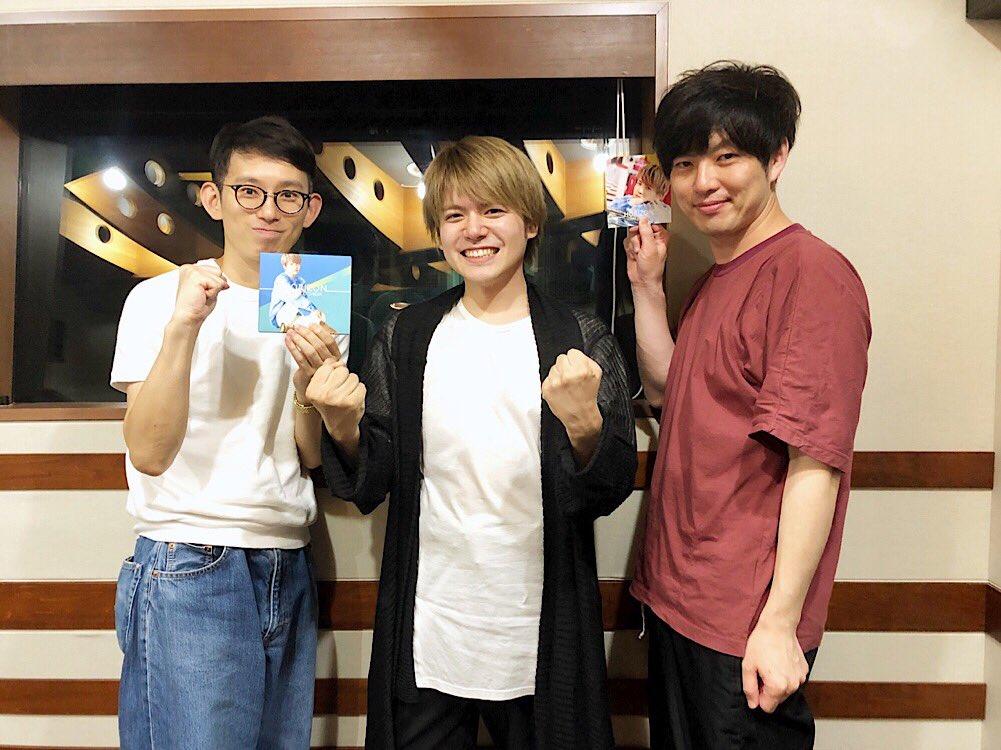 TOKYO FM/JFN『SCHOOL OF LOCK!』(@sol_info )出演させていただきました!皆様ありがとうございました📻✨#SOL #内田雄馬 #ゆうま #内田雄馬HORIZON放送後記はこちら↓