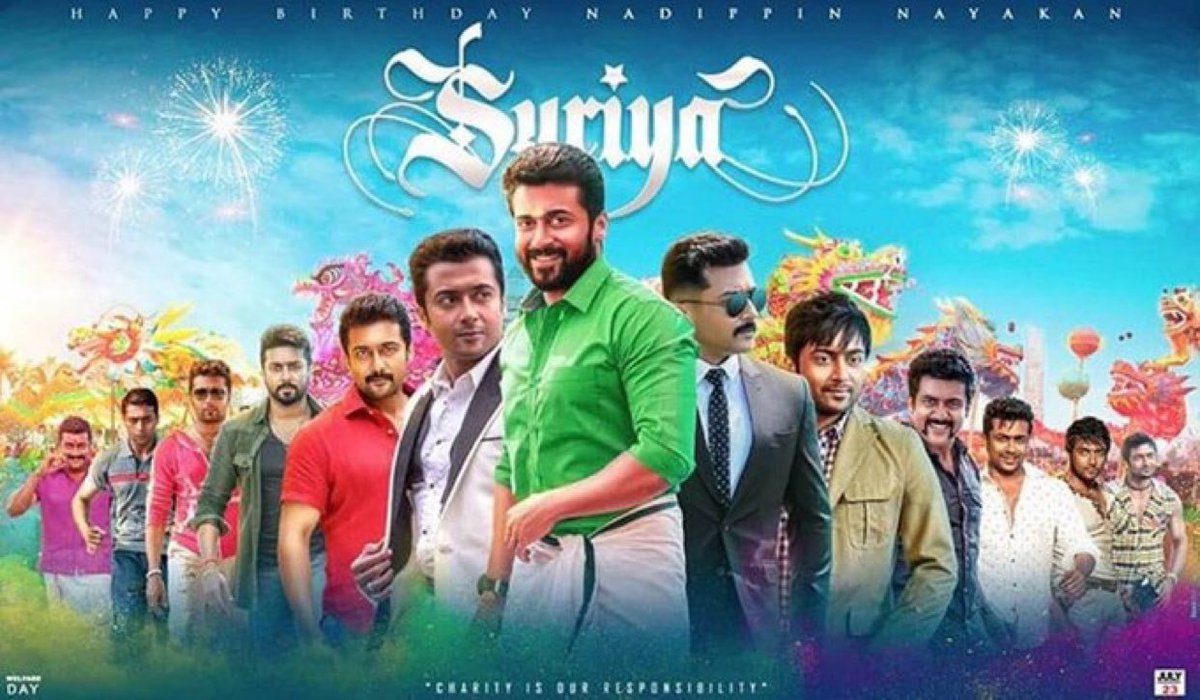 Wishing the admirable role model & ever talented man of many faces & humanitarian efforts @Suriya_offl a very happy birthday! #HappyBirthdaySuriya <br>http://pic.twitter.com/0Kle9eDnh3