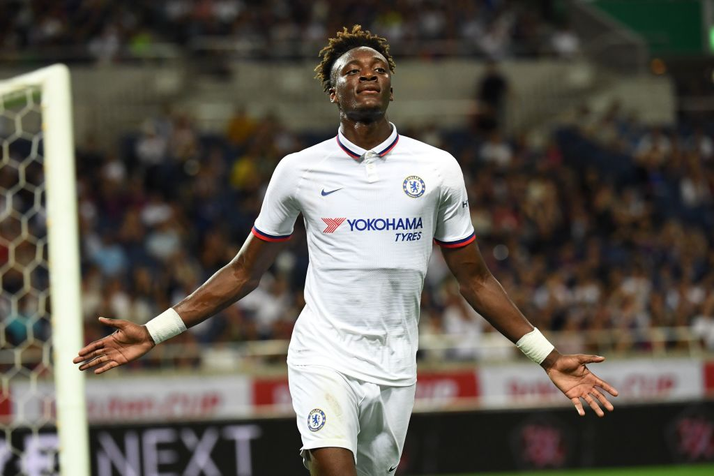 Half time and its so far, so good for Chelsea. They lead Barcelona thanks to a goal from Tammy Abraham. Follow live here: bbc.in/2LET5N0