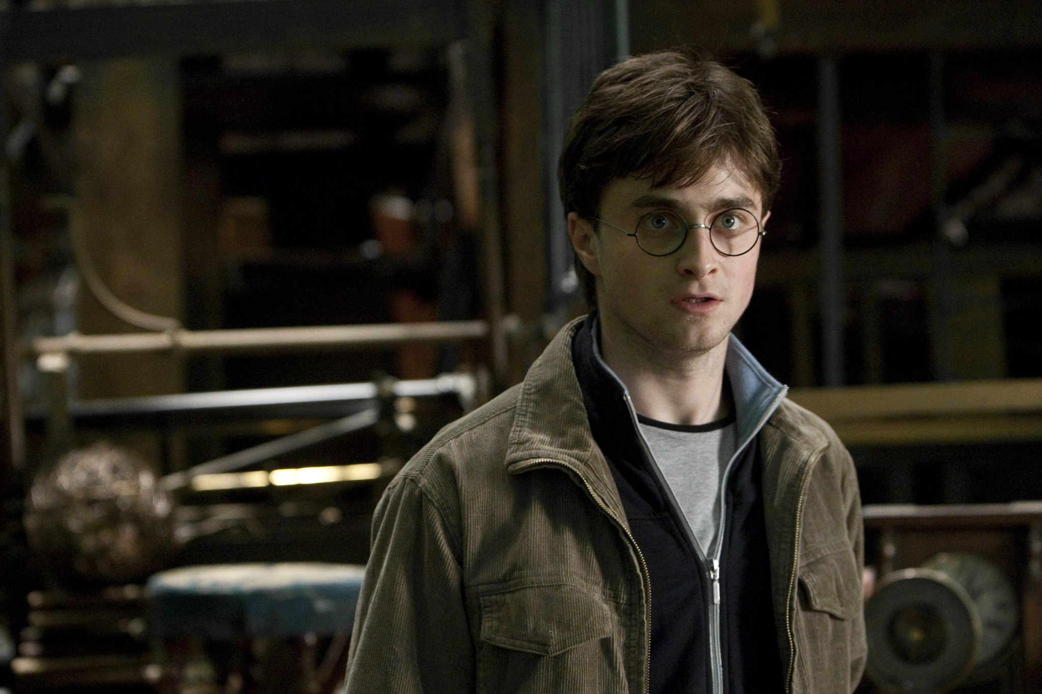 Happy birthday to Daniel Radcliffe.   Seen here as Harry Potter in and the Deathly Hallows Part 2.