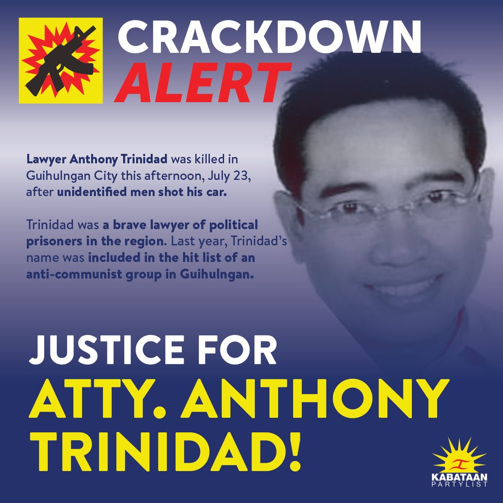 Image result for lawyer Anthony Trinidad