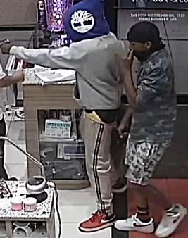 Caught on camera!! Armed robbery suspects storm into a North Houston nail salon and rob the employees and customers. We want these guys caught!! Help us by calling @CrimeStopHOU with their info. See video here-->https://youtu.be/2QRK-tMvM2Q #hounews #caughtoncamera #CrimeStoppersPays