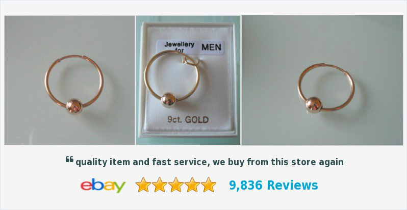 New Men's SINGLE 9ct gold 18mm beaded hoop earring #9ctGold #Jewellery #mens #gents #earrings #GiftsForHim #gifts #giftideas #jewelleryshop #giftshop #mensjewelery #mensgifts #hoops #sleepers #accessories #style #fashion #jewelry #ebayseller #ukhashtags  http://www.ebay.co.uk/itm/Brand-New-Men-039-s-039-SINGLE-039-9ct-gold-18mm-beaded-hoop-earring-Boxed-/151282551058?ssPageName=STRK:MESE:IT…pic.twitter.com/hQyTQQx8NR