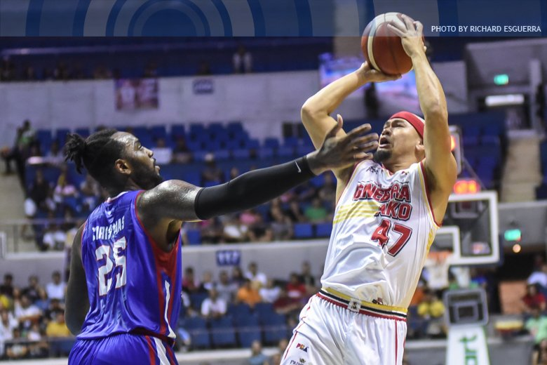 12 points in 14 minutes ⚡️ The Spark lives on for Ginebra » bit.ly/2OfrLqH