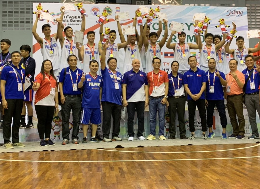 NU Bullpups DOMINATE Indonesia by 49 points to rule the Asean School Games 🏆 » bit.ly/2Of7TnL