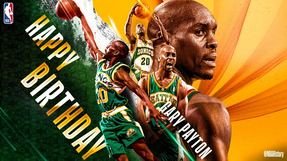 #RT @NBA: RT @NBAHistory: Join us in wishing a Happy 51st Birthday to 9x #NBAAllStar, 9x All-NBA, 9x All-Defensive & @Hoophall inductee, Gary Payton! #NBABDAY