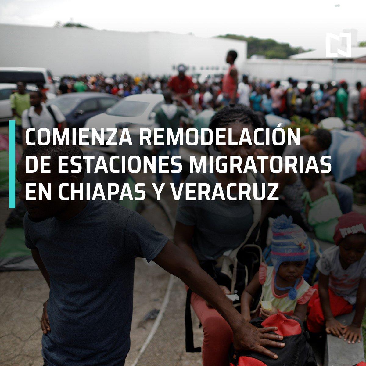 El Instituto Nacional de Migración informó que comenzó la remodelación de las estaciones migratorias de Tapachula, Chiapas, y Acayucan, Veracruz #DespiertaConLoret con @campossuarez