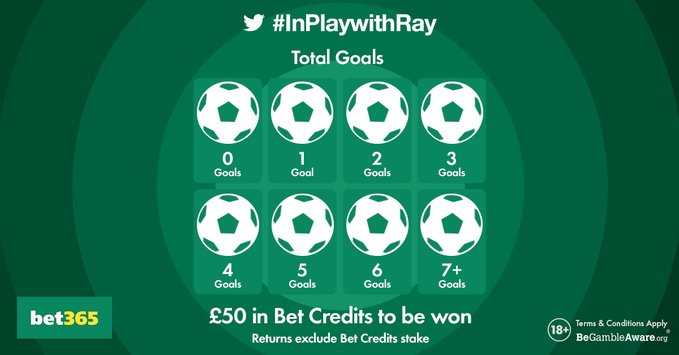 The Total Goals in Barcelona vs Chelsea was 3. Well done to our #InPlaywithRay winner, @JoshMcC79010599.
