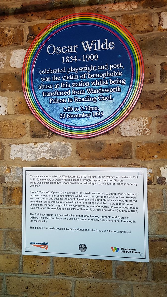 The plaque in full
