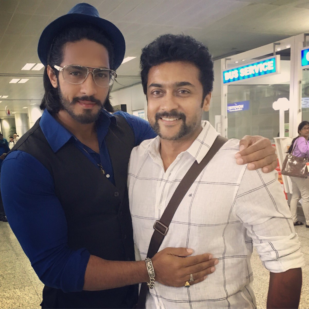 Wishing my Rocking Hero Durai Singam @Suriya_offl a very Happy Birthday! Doing a film with you is and will remain one of my most memorable achievements of life! 💪   Love,   Vitthal Prasad #S3   #HappyBirthdaySURIYA