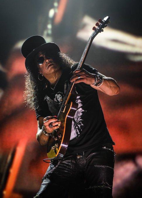 Happy 54th Birthday to Slash.          Guns N\ Roses     ~ Sweet Child O\ Mine