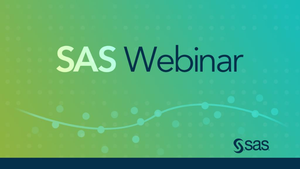 TODAY @ 11 a.m. ET: Join @wilsonraj and @khuq for our #saswebinar discussion on AI-Enriched IoT Analytics: Shaping the Future of Customer Experience. Orchestrate #realtime customer interactions that drive lasting brand recognition with differentiated CX. http://2.sas.com/6019EaapJ