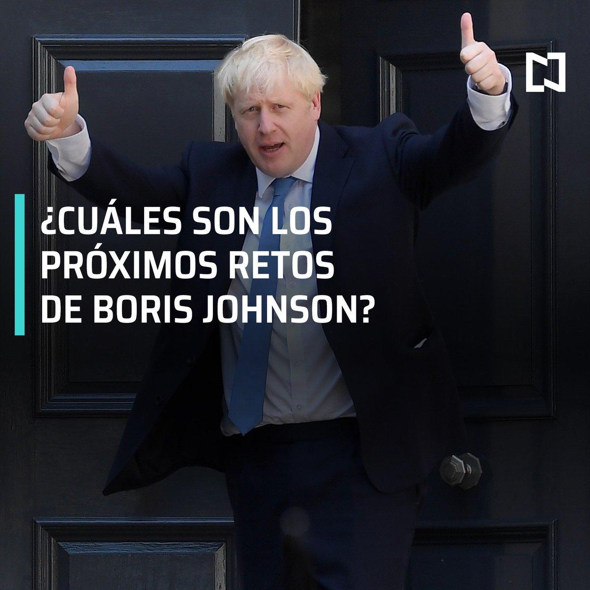 El ex alcalde de Londres Boris Johnson será el próximo primer ministro británico en sustitución de Theresa May, al imponerse en las elecciones primarias conservadoras a Jeremy Hunt #DespiertaConLoret con @campossuarez