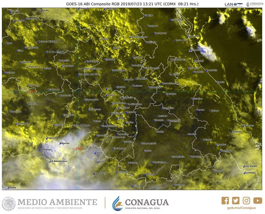 Esta mañana en el #ValleDeMéxico tendremos #Chubascos 🌦️ en el suroeste del #EdoMéx y bancos de #Niebla 🌫️ en zonas montañosas de la región. Consulta más detalles en https://smn.conagua.gob.mx/es/pronosticos/avisos/aviso-de-potencial-de-tormentas-en-el-valle-de-mexico…
