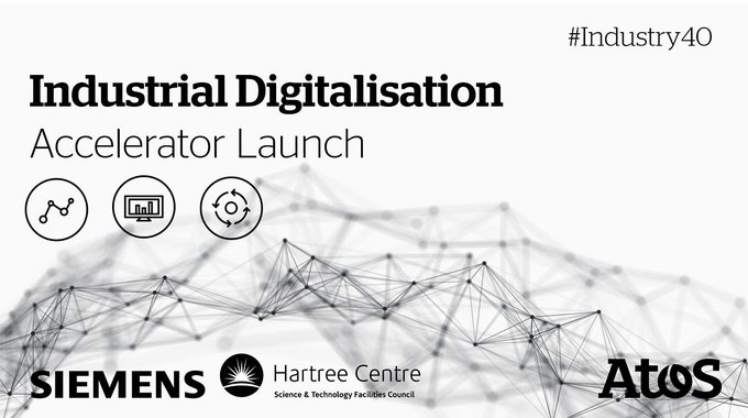 The Industrial Digitalisation Accelerator from Atos, @siemensindustry and @HartreeCentre is a...
