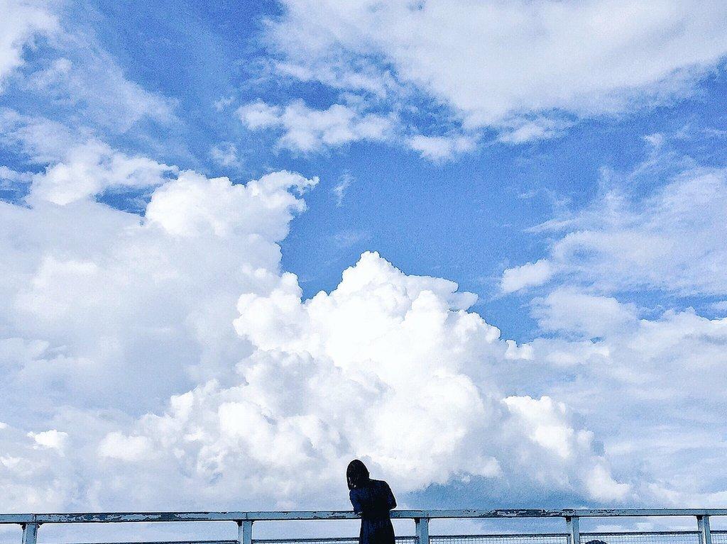 同じ日の空