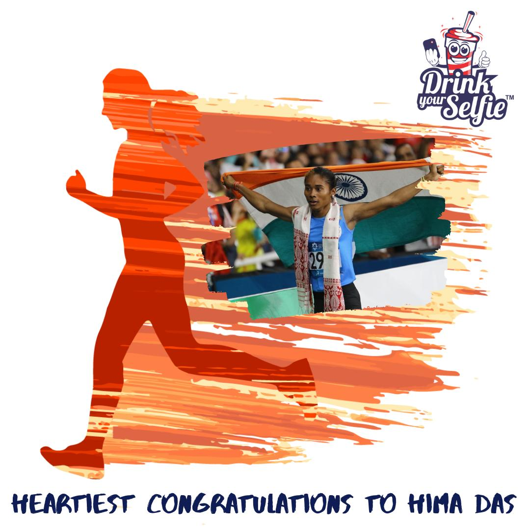 Great things never come from comfort zones. Heartiest Congratulations @HimaDas8 #HEMADAS #HimaDasGoldMedal