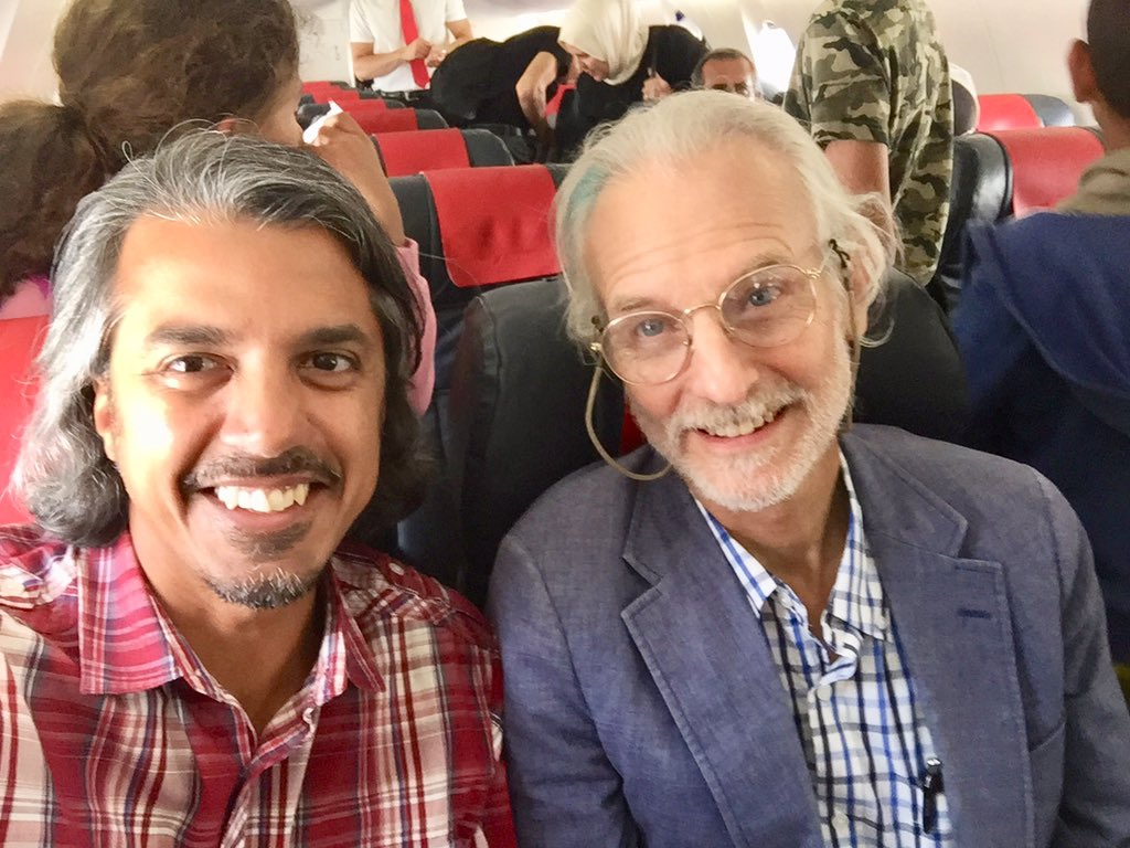 Emran El Badawi On Twitter Landing In Tangier W Mentor Ane Historian Founding Iqsaweb Board Member Fred Donner Setting Up Now For Iqsatangier And Eager To Meet Old And New Colleagues Bon Voyage