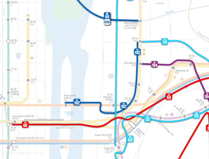 Subway Map E Line.Nyct Subway On Twitter Northbound F Trains Are Running On The M