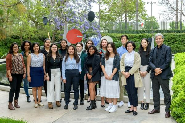 """On the blog: """"The Mellon Academy at LACMA was a week of extraordinary bliss for me as we shuffled around museum galleries and insider spaces with museum professionals."""" See more from 2019's Mellon Summer Academy students: https://bit.ly/2JYqzmf"""