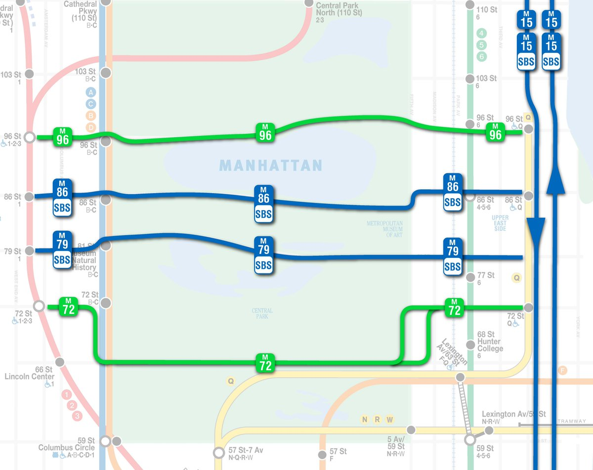 Subway Map 4 5 6 Train.Nyct Subway On Twitter Q Service Is Resuming North Of 57 St 7 Av