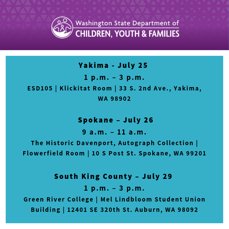 WA State Department of Children, Youth & Families (@waDCYF)   Twitter