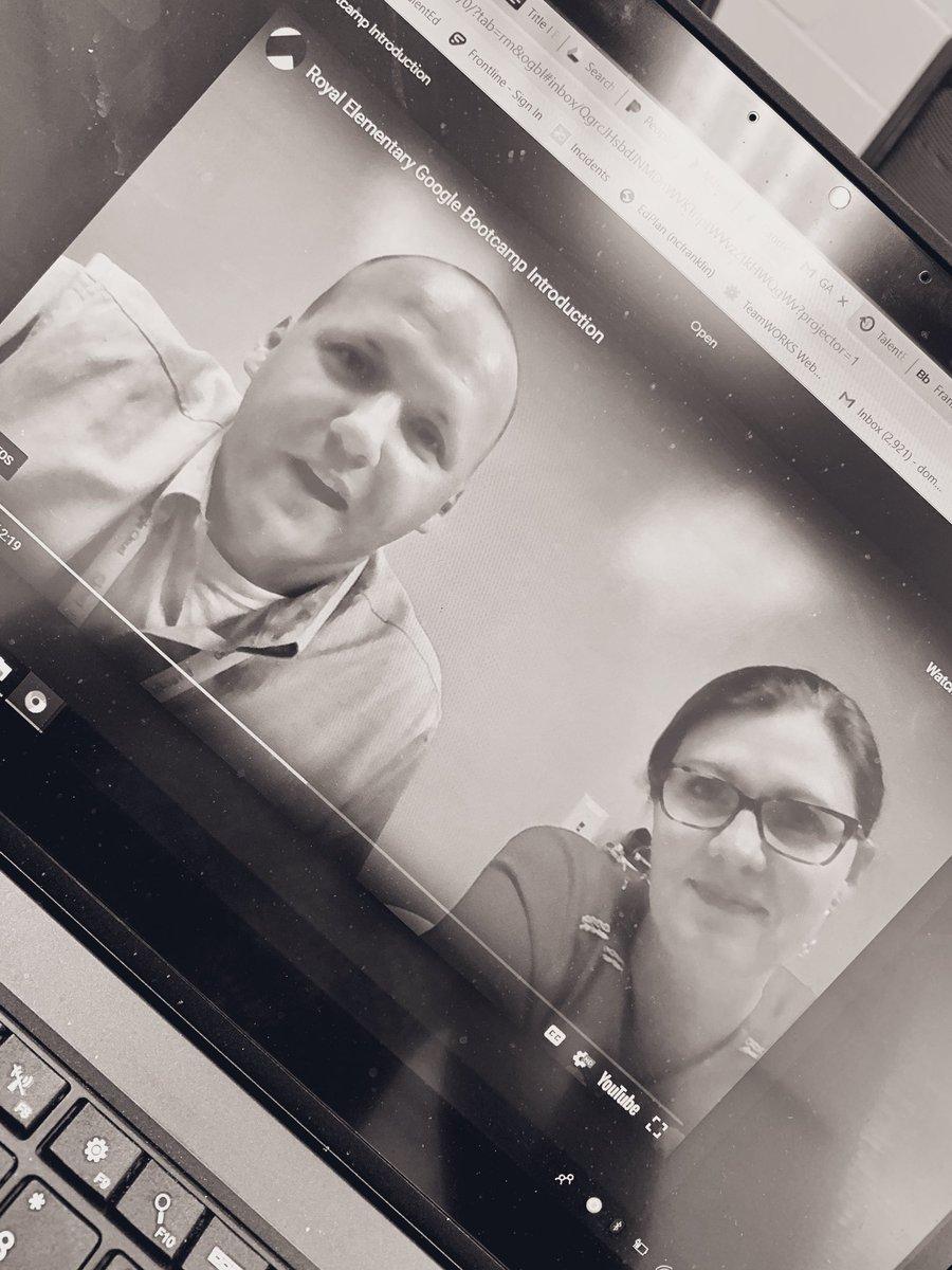 🎉💻🎉So pumped to have  @chris_is_tech and @MrsAReid on campus next week to share Google Education awesomeness with my teachers! 🎉💻🎉 #RESknights #summerPD #edtech #disruptthenorm  #GSuiteEDU #GAFE #KidsDeserveIt #SHIFT #teacherdevelopment