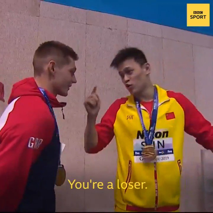Three-time Olympic champion Sun Yang has been banned for eight years for missing a doping test in September 2018 👉https://bbc.in/2wWCoXl The Chinese swimmer has never been far from controversy…