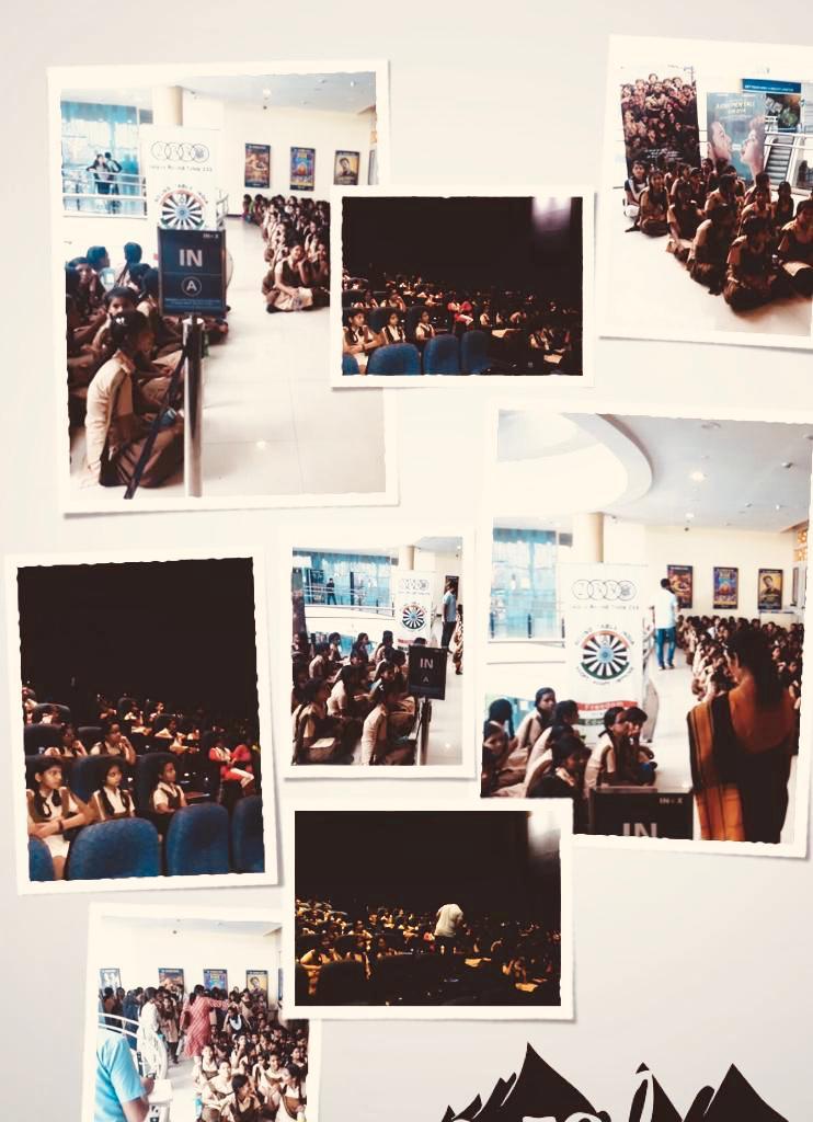 #Super30 students screening at Inox Jaipur @INOXMovies