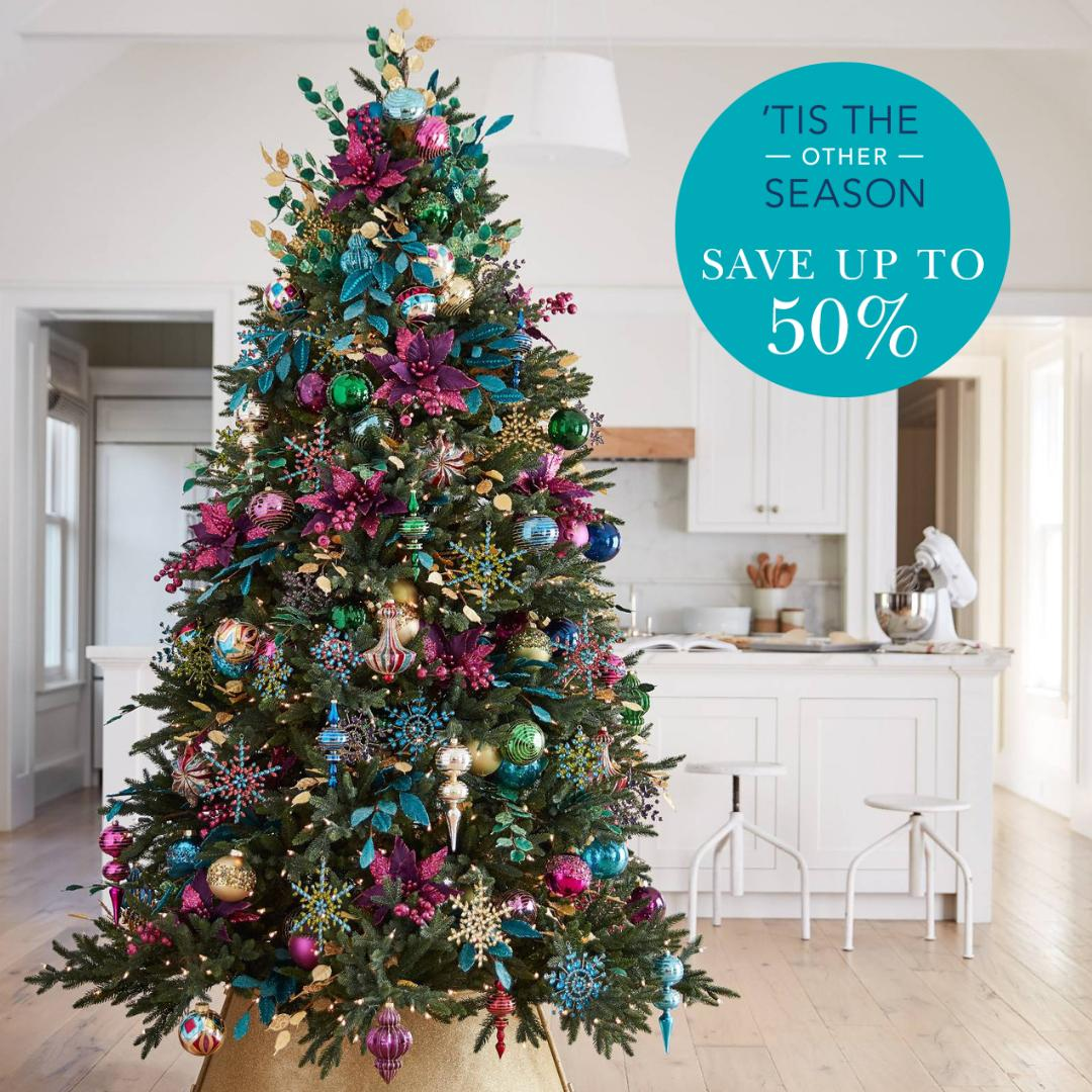 Beat the summer heat and shop our Christmas in July #sale. Shop now while stocks last. Ends tomorrow! — In photo: our Colorado Mountain Spruce ...