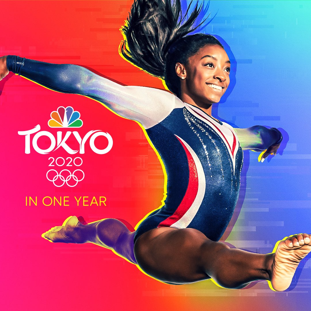In one year, the world's eyes will be on the #TokyoOlympics. Who's ready? @NBCOlympics
