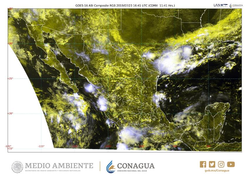 En las próximas horas se pronostican #Chubascos 🌦️ en el noroeste, occidente, centro y sur de #México. Revisa la actualización del #Pronóstico cada 3 horas en https://smn.conagua.gob.mx/es/pronosticos/avisos/aviso-de-potencial-de-tormentas… y mantente bien informado