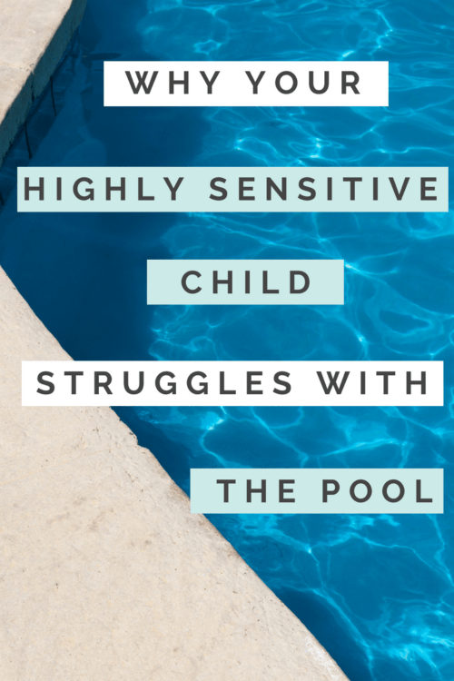Does your #highlysensitive child struggle with the pool & swimming? Find out why and get some tips to help them feel more comfortable around water.   http://buff.ly/2AjSn2P   … …  #hsp #sensory  #parenting #pool #anxiety