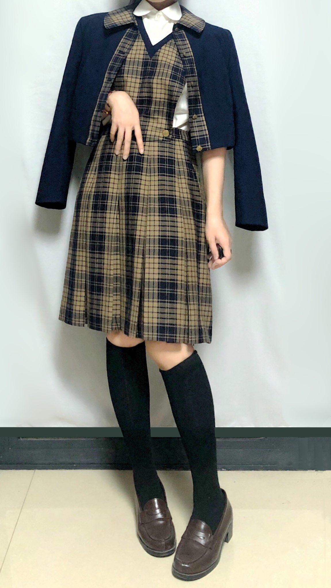 熊本県八代市興国町 秀岳館高等学校 ♡とても素敵な冬服!!!
