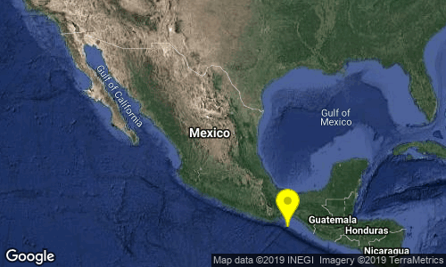test Twitter Media - SISMO Magnitud 4.0 Loc  117 km al SURESTE de SALINA CRUZ, OAX 23/07/19 12:01:46 Lat 15.19 Lon -94.83 Pf 12 km https://t.co/ZRLCmMS1P0